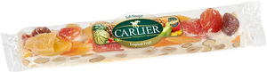 Carlier - Nougat bar with soft vanilla, fruits and almonds