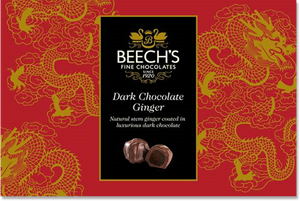 Beech's Fine Chocolates | Dark Chocolate Ginger, 200g