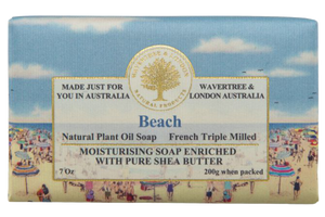WAVERTREE & LONDON - BEACH SOAP BAR 200G - Hansel and Gretel Coffee House