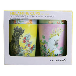 La La Land - Cup Set Cockatoos of Australia