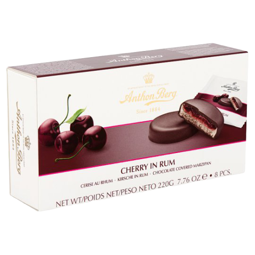 Anthon Berg | Cherry in Rum 8 Pcs, 200g - Hansel and Gretel Coffee House