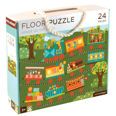 Count On The Train Floor Puzz Puzzle FP-COUNT ON THE TRAIN - Hansel and Gretel Coffee House