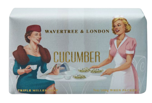 WAVERTREE & LONDON - CUCUMBER SOAP 200g - Hansel and Gretel Coffee House