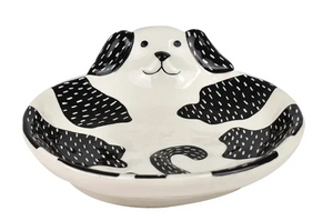 DENIS DOG TRINKET PLATE