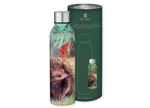 Fauna of Australian Echidna + Finch Drink Bottle