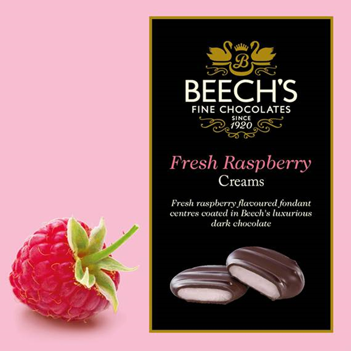 Beech's Fine Chocolates | Fresh Raspberry Creams