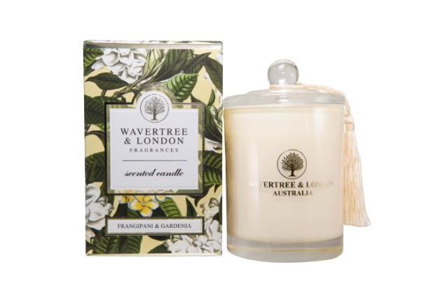 Wavertree & London - FRANGIPANI & GARDENIA CANDLE - Hansel and Gretel Coffee House