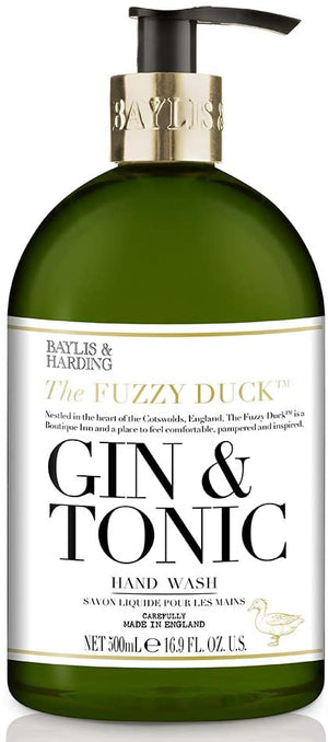 FUZZY DUCK GIN & TONIC HAND WASH 500ML - Hansel and Gretel Coffee House