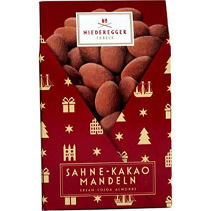 Niederegger | Sahne-Kakao-Mandeln, 100g - Hansel and Gretel Coffee House
