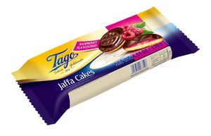 Tago | Raspberry Flavour Jaffa Cakes, 135g - Hansel and Gretel Coffee House