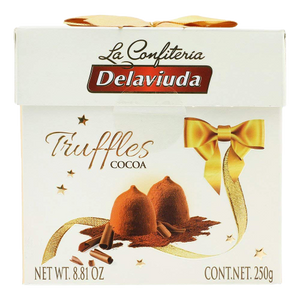 Delaviuda | Truffles Cocoa, 250g - Hansel and Gretel Coffee House
