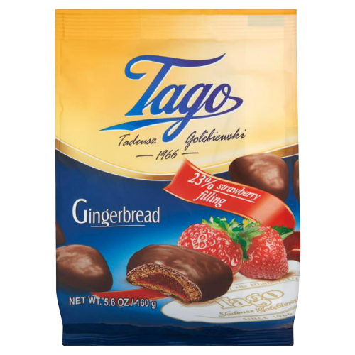 Tago | Strawberry Gingerbread, 160g - Hansel and Gretel Coffee House