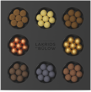 Lakrids By Bulow | Chocolate Coated Liquorice Selection Box - Hansel and Gretel Coffee House