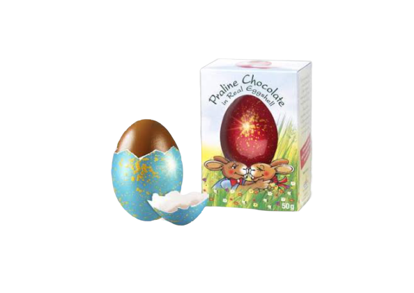 Springenheide | Praline Chocolate in Real Eggshell - Hansel and Gretel Coffee House