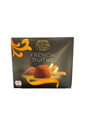 Truffettes | French Truffles, Candied Orange Peel, 200g - Hansel and Gretel Coffee House