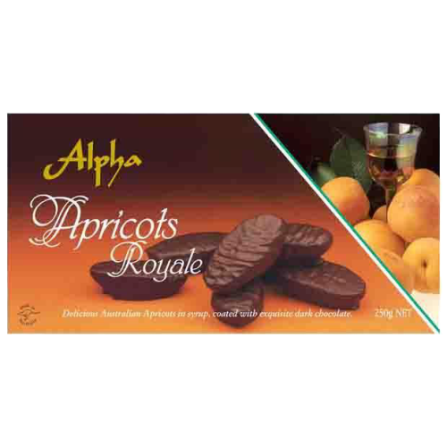 Alpha | Apricots Royale - nut, dairy and gluten free, 250g - Hansel and Gretel Coffee House