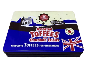 Walkers | Assorted Toffees and Chocolate Eclairs Tin, 700g - Hansel and Gretel Coffee House