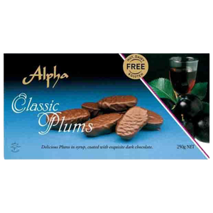 Alpha | Classic Plums - nut, dairy and gluten free, 250g - Hansel and Gretel Coffee House
