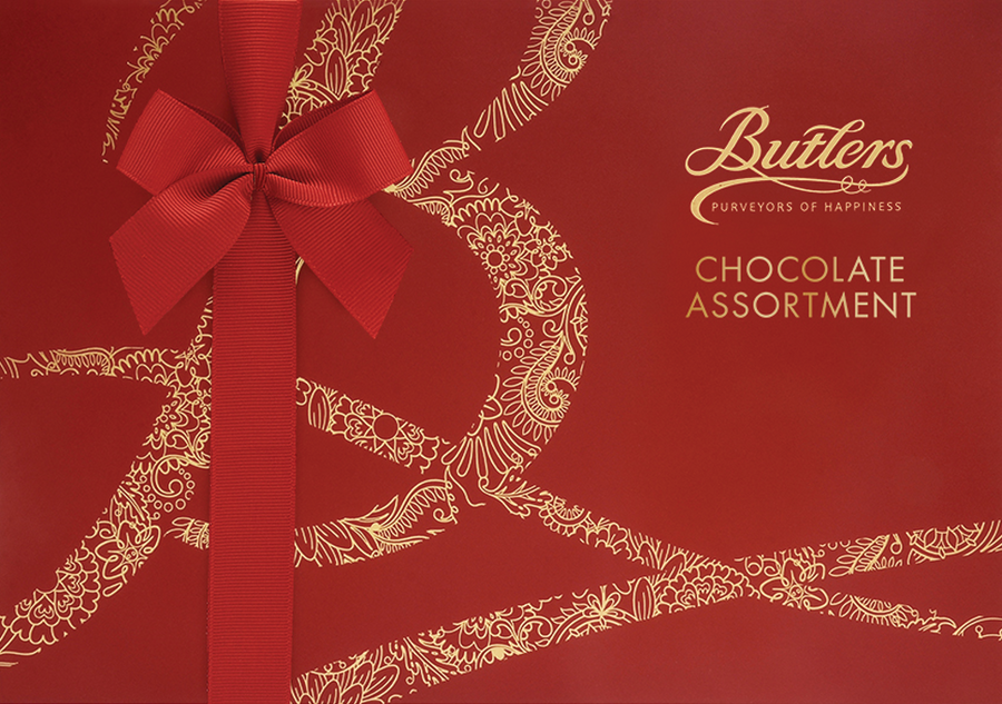 Butlers Chocolate | Red Chocolate Assortment