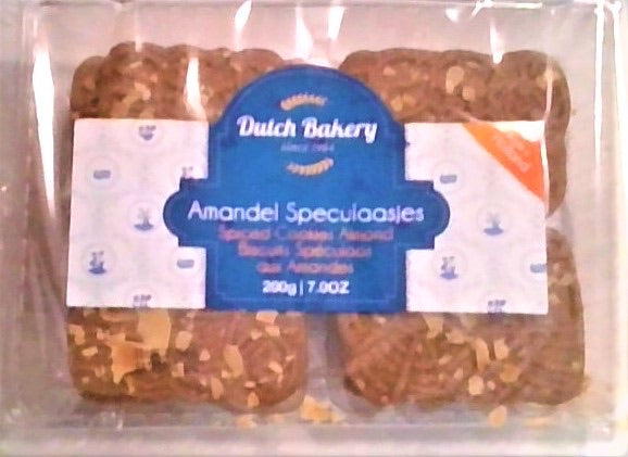 Dutch Bakery | Almond Coated Spiced Biscuits, 200g - Hansel and Gretel Coffee House