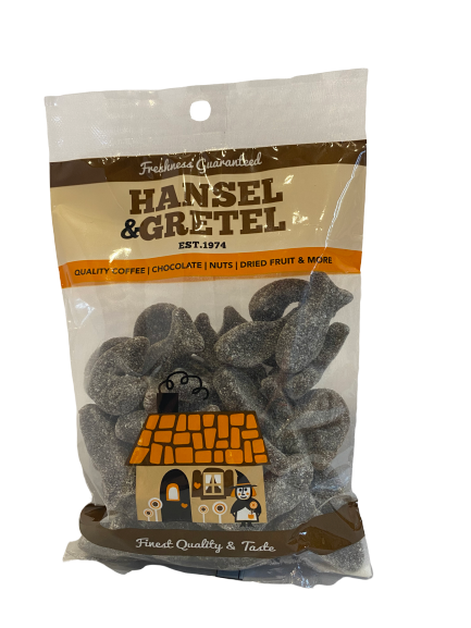 Dutch Liquorice - Salted Herrings, 200g - Hansel and Gretel Coffee House