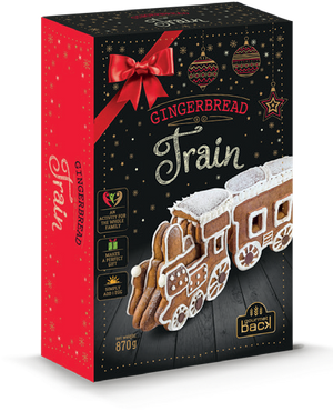 The Treat Kitchen - Gingerbread Train