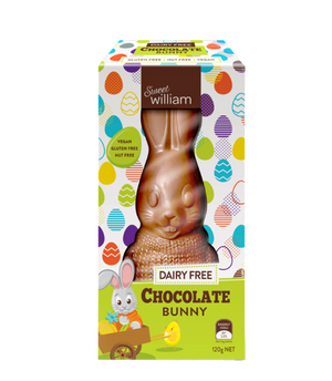 Sweet William | Dairy Free Chocolate Bunny - Hansel and Gretel Coffee House