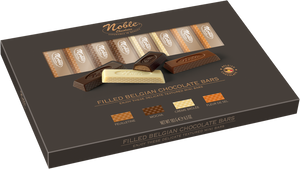 Noble Chocolate - Filled Belgian Chocolate Bars