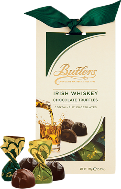 Butlers Chocolate | Irish Whiskey Chocolate Truffles