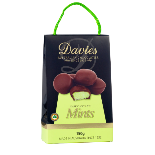 Davies Chocolatier | Dark Chocolate Mint's - Hansel and Gretel Coffee House
