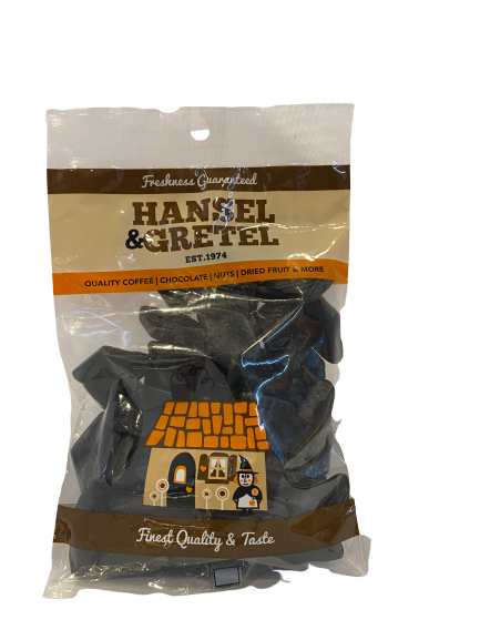 Dutch Liquorice - Medium Diamonds, 200g - Hansel and Gretel Coffee House