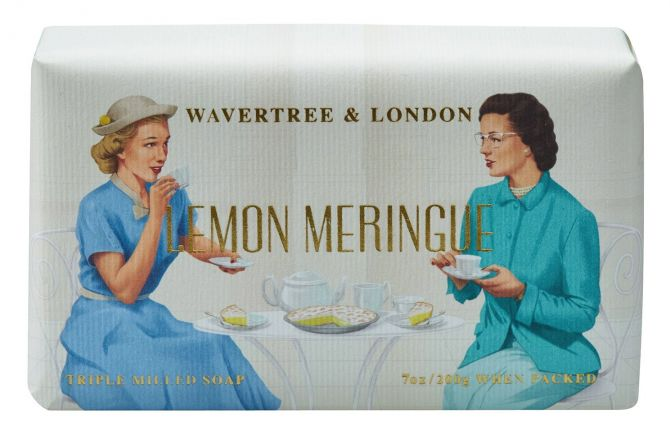 WAVERTREE & LONDON - LEMON MERINGUE SOAP 200g - Hansel and Gretel Coffee House