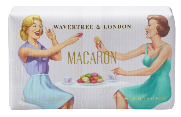 WAVERTREE & LONDON - MACARON SOAP 200g - Hansel and Gretel Coffee House