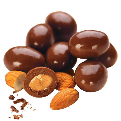 Milk Chocolate Almonds, 200g - Hansel and Gretel Coffee House