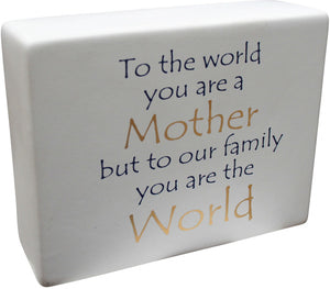 Ceramic Sign Our Mother