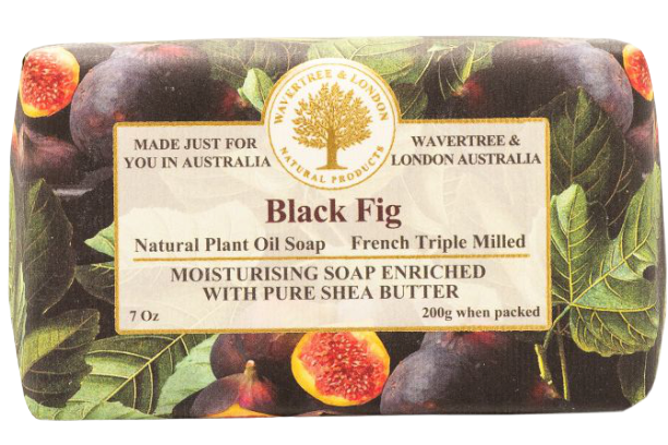 WAVERTREE & LONDON - BLACK FIG SOAP 200g - Hansel and Gretel Coffee House
