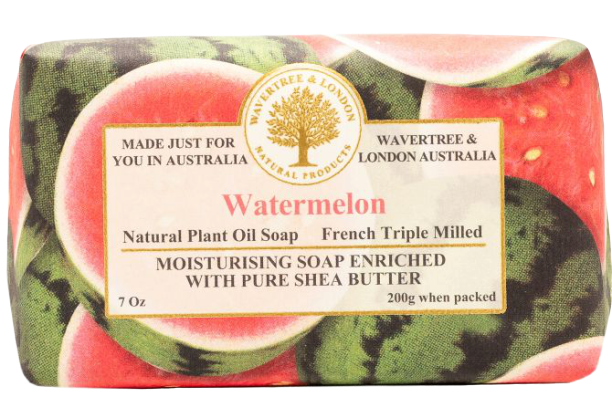 WAVERTREE & LONDON - WATERMELON SOAP 200g - Hansel and Gretel Coffee House
