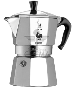 Bialetti Stovetop Espresso Maker | 3 Cup - Hansel and Gretel Coffee House