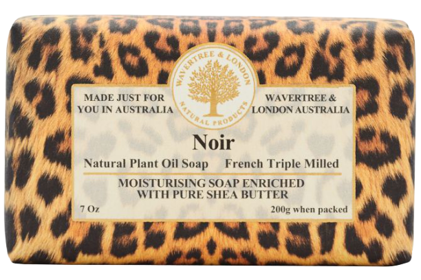 WAVERTREE & LONDON - NOIR SOAP BAR 200G - Hansel and Gretel Coffee House