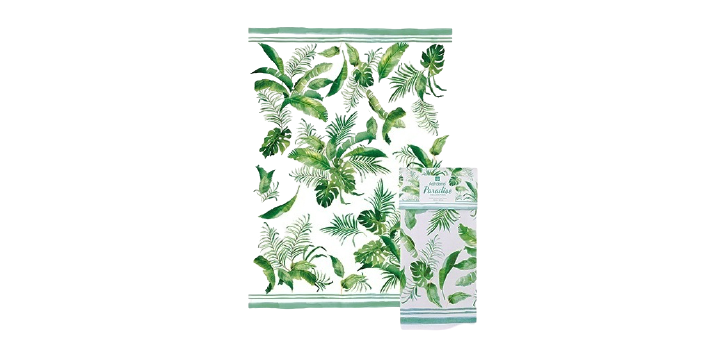 Paradise Collection Fronds Kitchen Towel