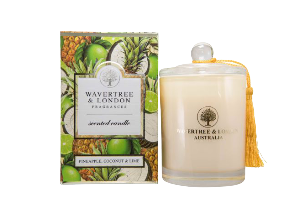 Wavertree & London - PINEAPPLE, COCONUT & LIME CANDLE - Hansel and Gretel Coffee House
