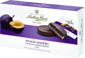 Anthon Berg | Plum in Madeira 8 Pcs, 200g - Hansel and Gretel Coffee House