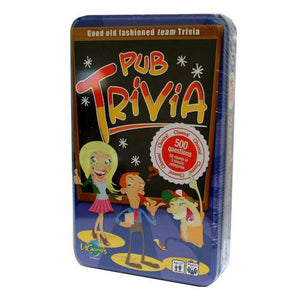 U GAMES PUB TRIVIA TINNED GAME