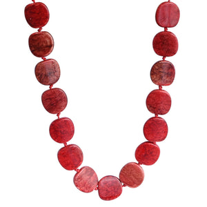 Riri Necklace Red Small