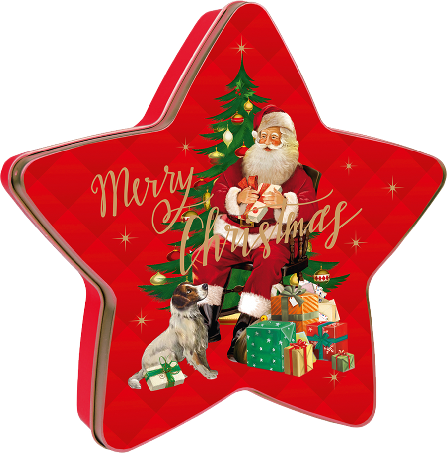 Windel - Christmas Star with milky pralines