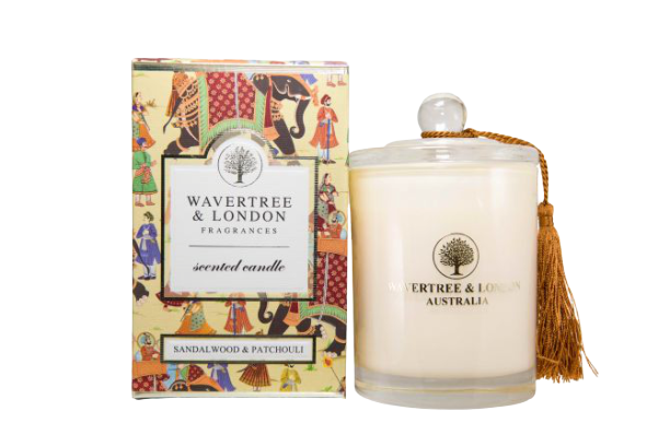 Wavertree & London - SANDALWOOD & PATCHOULI CANDLE - Hansel and Gretel Coffee House