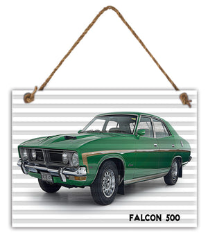 Sign Falcon 500 30cm x 40cm
