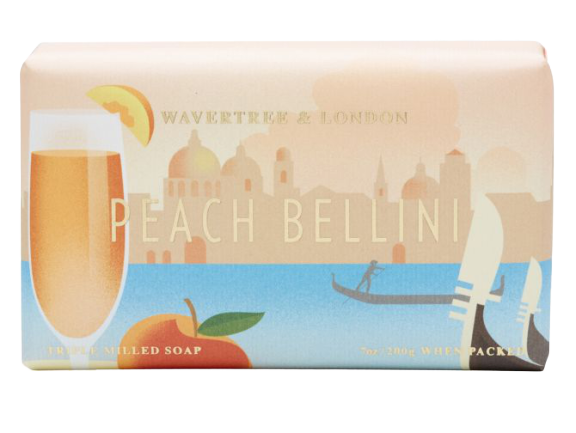 WAVERTREE & LONDON - PEACH BELLINI SOAP 200g - Hansel and Gretel Coffee House