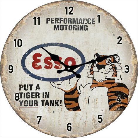 Clocks | Put a Tiger In Your Tank (30cm)