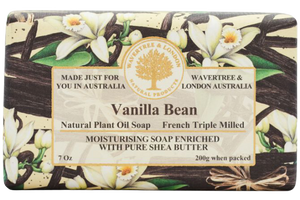 WAVERTREE & LONDON - VANILLA BEAN SOAP 200g - Hansel and Gretel Coffee House